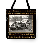 Graduation Card Tote Bag