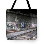 Graffiti - Under Over Railyard Tote Bag