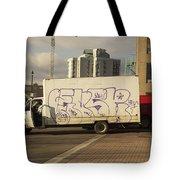Graffiti Truck Tote Bag