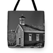 Grafton Schoolhouse - Bw Tote Bag
