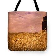 Grain Elevator And Crop Tote Bag