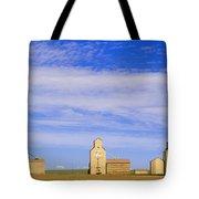Grain Elevators, Mossleigh, Alberta Tote Bag