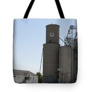 Grain Processing Facility In Shirley Illinois 3 Tote Bag