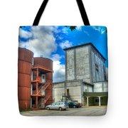 Grain Tower Apartments Tote Bag
