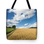 Grainfield Blue Sky Tote Bag