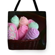 Grammy's Yarn Basket Tote Bag