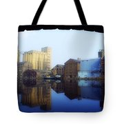 Grand Canal, Dublin, Co Dublin, Ireland Tote Bag