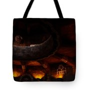 Grand Canyon Desert View Watchtower - Greeting Card Tote Bag