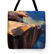 Grand Canyon Into Space Tote Bag