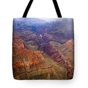 Grand Canyon Morning Scenic View Tote Bag
