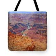 Grand Canyon Nationa Park Painting Tote Bag