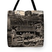 Grand Canyon Railroad Locomotive Tote Bag