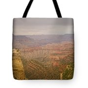Grand Canyon Scenic Overlook View Tote Bag
