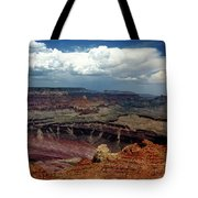Grand Canyon View - Greeting Card Tote Bag
