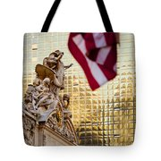 Grand Central Flag Tote Bag