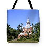 Grand Chapel In Central Cemetery Szczecin Poland Tote Bag