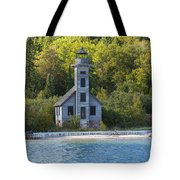 Grand Island E Channel Lighthouse 3 Tote Bag