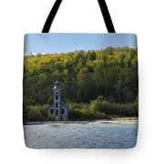 Grand Island E Channel Lighthouse 4 Tote Bag