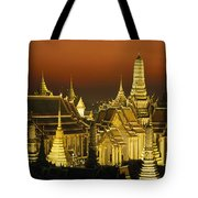 Grand Palace And Temple Of The Emerald Tote Bag
