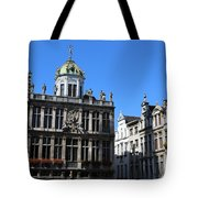 Grand Place Buildings Tote Bag