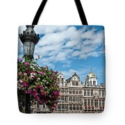 Grand Place Flowers Tote Bag