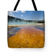 Grand Prismatic Spring IIi Tote Bag