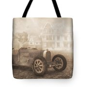 Grand Prix Racing Car 1926 Tote Bag by Jutta Maria Pusl