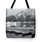 Grand Teton Dawn Iv Tote Bag