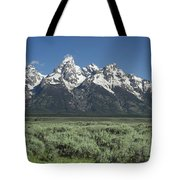 Grand Teton Spring Tote Bag