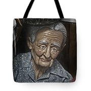 Grandma Under Glass Tote Bag