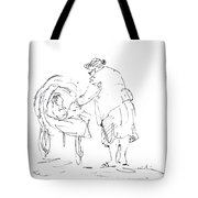 Grandmother With Baby Tote Bag