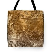 Grants Canal, 1862 Tote Bag