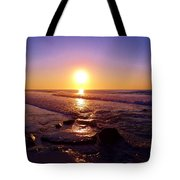 Grape Sea Tote Bag