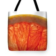 Grapefruit Macro 2 Tote Bag