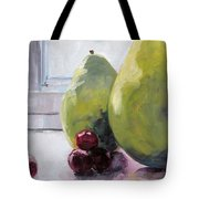 Grapes And Pears Tote Bag