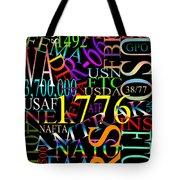 Graphic America 1 Tote Bag