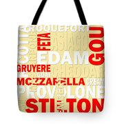 Graphic Cheese Tote Bag