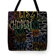 Graphic Composers Tote Bag