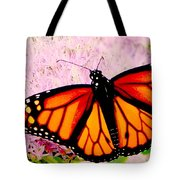 Graphic Monarch Tote Bag