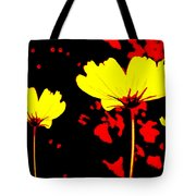 Graphic Three Tote Bag
