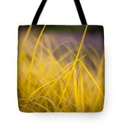 Grass Abstract 3 Tote Bag
