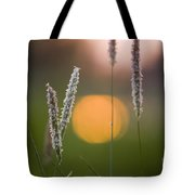 Grass Blooming Tote Bag