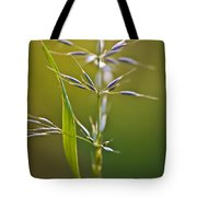 Grass In Flower Tote Bag