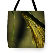 Grass Plume Tote Bag