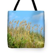 Grass Waving In The Breeze Tote Bag