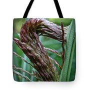 Grass Worm Tote Bag