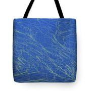Grasses And Water Tote Bag