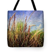 Grasses Standing Tall Tote Bag