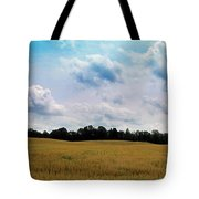 Grassy Country Fields Tote Bag