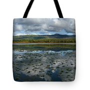 Gravel Lake, North Klondike Highway Tote Bag
